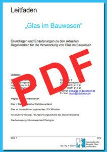 Leitfaden Glas im Bauwesen 2012 - Glasstatik Hamm